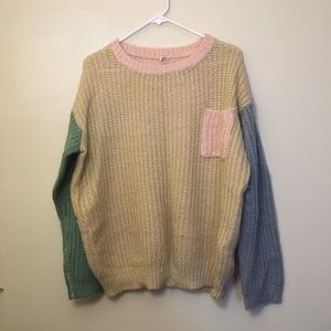 Pastel Pullover Sweater